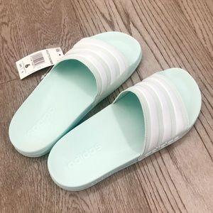 Adidas Baby Mint Adilette Slippers